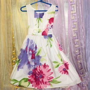 NWOT Flower dress